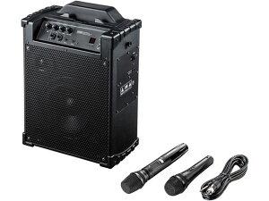 【お取り寄せ】サンワサプライ/ワイヤレスマイク付き拡声器スピーカー/MM-SPAMP10