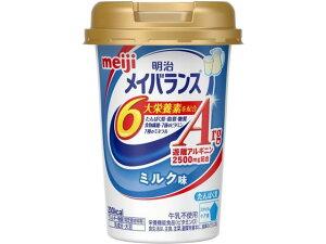 【お取り寄せ】明治/メイバランスArgミニ カップ ミルク味(125ml)