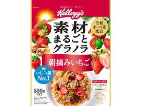 日本ケロッグ/フルーツグラノラ 朝摘みいちご 徳用600g