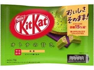 ネスレ/キットカットミニ オトナの甘さ 抹茶 14枚