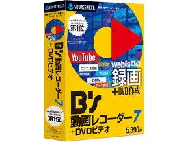 ソースネクスト/B's 動画レコーダー 7+DVDビデオ/290150