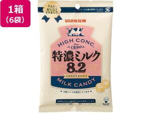 UHA味覚糖/特濃ミルク8.2 88g×6袋/91045