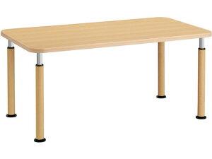 コクヨ/施設用ダイニングテーブル ラチェット 角形 W1600アジャスターML1