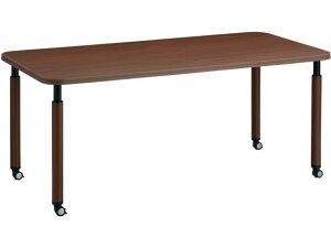 コクヨ/施設用ダイニングテーブル ラチェット 角形 W1800 キャスター MM5