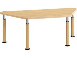 コクヨ/施設用ダイニングテーブル ラチェット 台形 W1655アジャスターML1