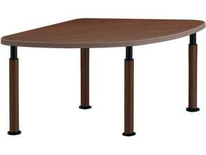 コクヨ/施設用ダイニングテーブル ラチェット 扇形 W1475アジャスターMM5