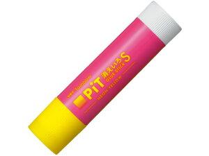 トンボ鉛筆/スティックのり 消えいろピット ネオン ピンク/HCB-113C