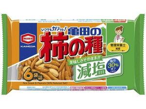 亀田製菓/亀田の柿の種 減塩 6袋