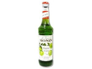 日仏貿易/モナン グリーンアップル シロップ 瓶 700ml