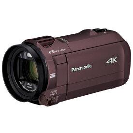 Panasonic パナソニック デジタル4Kビデオカメラ HC-VX992M-T カカオブラウン