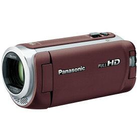 パナソニック デジタルハイビジョンビデオカメラ HC-W590M-T ブラウン