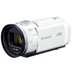 パナソニック デジタル4Kビデオカメラ HC-VX2M-W ピュアホワイト