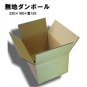ダンボール箱 A5サイズ 50サイズ【10枚】無地段ボール220×160×H120(宅配便規格60サイズOKです)