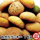 おから豆乳クッキー 1kg 送料無料 1個58kcal 大ヒット チョコ オレンジ チーズ シナモン 抹茶のミックス 豆乳おから…