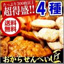 送料無料 おからせんべい 匠こだわり4種の味 300枚低カロリー 【HLS_DU】