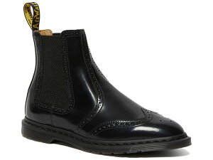 GRAEME BROGUE LEATHER BOOTS BLACK POLISHED SMOOTH 26586001