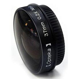 【中古】Optekaプラチナシリーズ0.2?Xロープロファイル「Ninja」魚眼レンズレンズfor 28?mmビデオカメラ