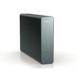 【中古】ソニー PC&TV録画用 薄さ3.5cmスタイリッシュ&コンパクト据置き型外付HDD(USB3.0・2TB) 黒 HD-D2B B