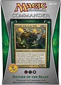 【中古】Magic the Gathering - Commander 2013 - Nature of the Beast Deck