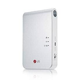 【中古】LG Electronics Japan スマートフォン連動プリンター Pocket Photo ホワイト PD239W