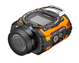 【中古】RICOH 防水アクションカメラ WG-M1 オレンジ WG-M1 OR 08286