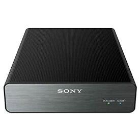 【中古】ソニー TV録画用 据え置き型外付けHDD(2TB) ブラック 縦置き・横置き自由なアルミパネル付 HD-U2