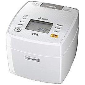 【中古】三菱電機 IHジャー炊飯器 備長炭炭炊釜 5.5合炊き ピュアホワイト NJ-VV106-W