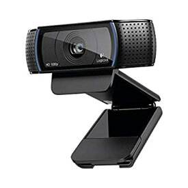 【中古】ロジクール ウェブカメラ C920r ブラック フルHD 1080P ウェブカム ストリーミング 国内正規品 2年間メーカー保証