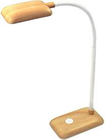 【中古】dretec(ドリテック) LEDスタンドライト コンパクト 木目 学習 電気スタンド 学習机 勉強 デスクスタンド 読書 目に優しい 学習用 卓上 デスク デ