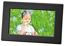 【中古】グリーンハウス デジタル フォトフレーム 7型 ワイド液晶 高精細 (800×480Pixel) ブラック GH-DF7V-BK