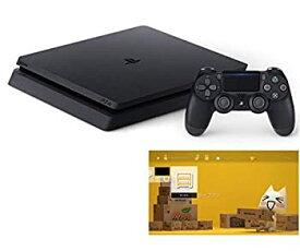 【中古】PlayStation 4 ジェット・ブラック 500GB (CUH-2200AB01) 【特典】 オリジナルカスタムテーマ (配信)