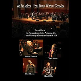 【中古】We Are Voices-For a Future Without Genocide-Live C [DVD] [Import]