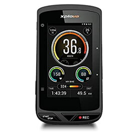 【中古】【本体、マウントのみ】Xplova(エクスプローバ) X5-Evo (X5 エボ) / HDビデオカメラ搭載 GPSサイクルコンピュータ/ドライブレコーダー機能搭