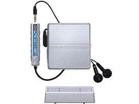 【中古】SHARP シャープ MD-ST600-S シルバー系 ポータブルMDプレーヤー MDLP対応 (MD再生専用機/MDウォークマン)