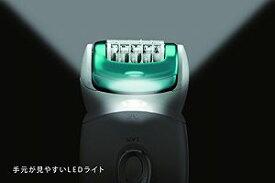 【中古】パナソニック 脱毛器 ソイエ ボディ用 グリーン調 ES-ED62-G