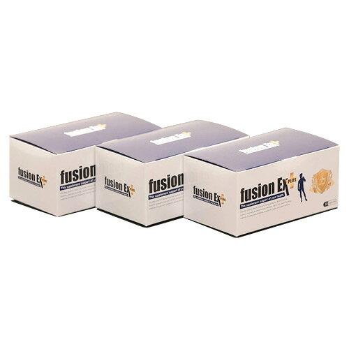 【送料無料】フュージョンEXプラス:3箱(30カプセル×3)[約3ヶ月分]シトルリン高配合!自信に繋がる男性用サプリメント【L-シトルリン/マカ/クラチャイダム/L-アルギニン/ソフォン】