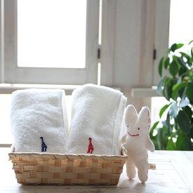 出産祝い hajimari ハジマリ フェイスタオル 今治製タオル 名入れ刺繍 日本製