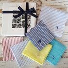 to-おとなとこどものペアハンカチ(単品)リネン100%イニシャル刺繍プチプレゼントハンカチギフト