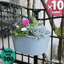 【週末限定】植木鉢 gardens(ガーデンズ) ハンギングエコポット 300 4L[八幡化成]【ポイント10倍】
