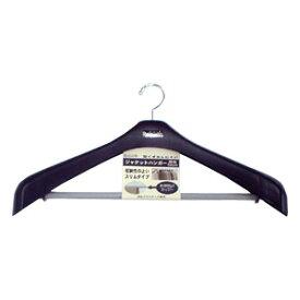 日本製 リバースジャケットハンガーストップ 52 ブラック[シンコハンガー]【ポイント10倍】【フラリア】