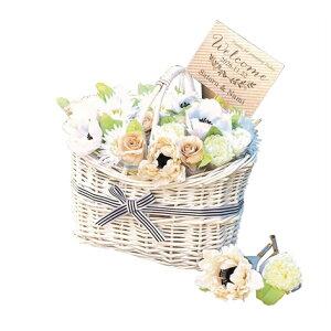 【プチギフト】愛をこめて花束を!(ビアンカ)30個セットバスケット付き