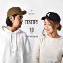 キャップ 帽子 ロゴキャップ メンズ レディース カープ女子 テスティファイ TESTIFY