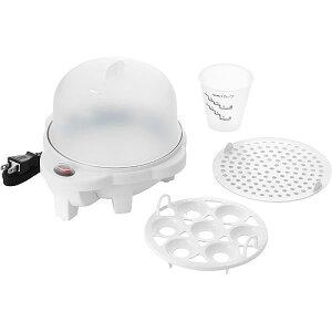 電気ゆでたまご器(目皿付) / PDY-30 電気蒸し器 電気ミニ蒸し器 電気ゆで卵 蒸し物 コンパクト蒸し器