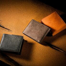 【伝統職人】【COCOMEISTER(ココマイスター)】カルドミラージュ・二つ折り財布