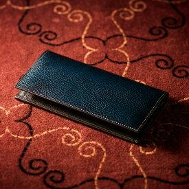 【伝統職人】【COCOMEISTER(ココマイスター)】ロッソピエトラ・薄型長財布