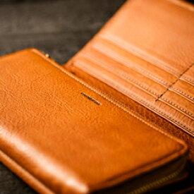 【伝統職人】【COCOMEISTER(ココマイスター)】マルティーニ・オーモンドウォレット イタリア千年もの歴史を誇る伝統皮革の長財布 メンズ 紳士物