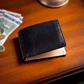 【伝統職人】【COCOMEISTER(ココマイスター)】マットーネ・マルチパース イタリア千年の歴史を誇る 2つ折り財布 紳士者 メンズ
