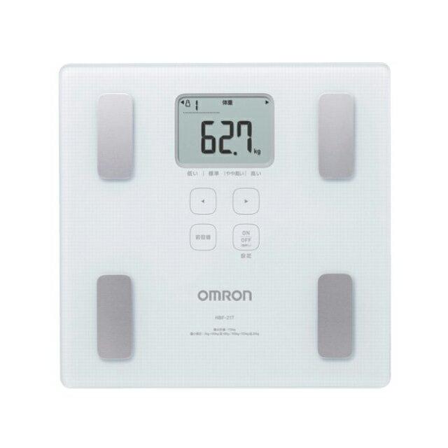 オムロン 体重計 体組成計 HBF-217/W | 送料無料 体脂肪計 ヘルスメーター OMRON HBF217W