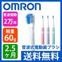 OMRON(オムロン) 音波式電動歯ブラシ HTB210【送料無料|送料込|音波式歯ブラシ|ハブラシ|歯磨き|乾電池式|携帯|歯垢除去|HT-B210】