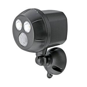 MR BEAMS(ミスタービームス) センサーライト(電池式) MB390 防犯対策 スポットライト 人感センサー 電池式 センサライト 屋外 LED 防水 | ライト 300ルーメン ledライト 防犯 防犯グッズ セキュ